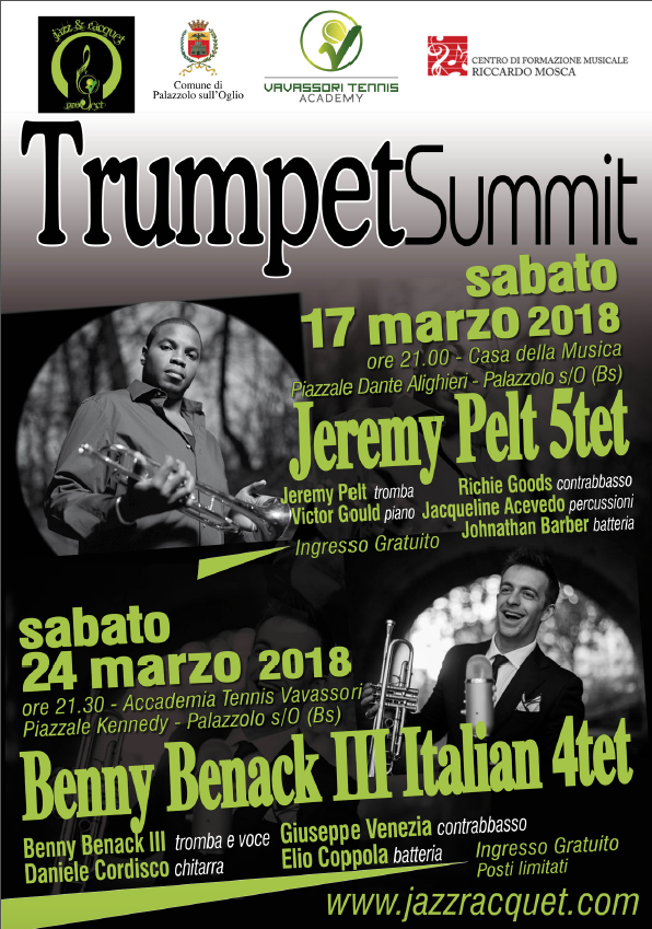 Jazz & Racquet Project: blowing our trumpets!