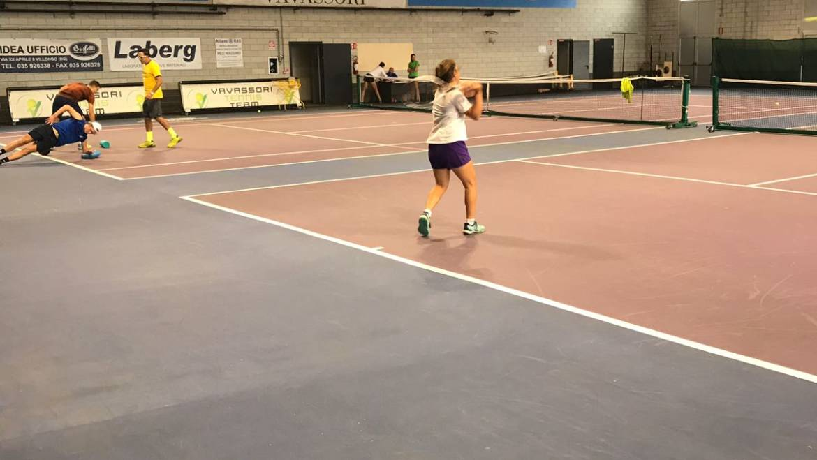 ITF tennis camp in Academy